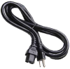 6ft NEMA 5-15P USA 3 pin Plug to C15 SJT Power Cord -- SF-1220-06B