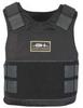 Ballistic Vest Pkg,Concealable,Black,2XL -- 33F686 - Image