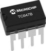Thermal Management, Brushless DC Fan Controllers and Fan Fault Detectors -- TC647B