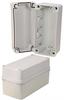7x3x3 Inch Miniature Industrial Enclosure with Corner Screws -- NBV733 -Image
