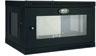 SmartRack 6U Wall-Mount Standard-Depth Rack Enclosure Cabinet, Plexiglass Front Door Insert -- SRW6UG