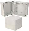 5x5x4 Inch Miniature Industrial Enclosure with Corner Screws -- NBV554 -Image