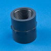 Coupling PVC Threaded Pipe Fittings -- 27247 - Image