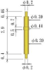 Double Ended Probe Pin -- 8YK-D38H-L37 -Image