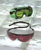 Laser Glasses,Clear,Uncoated -- 3WMD9