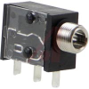 3.5 mm SINGLE MONO JACK, VERTICAL, THREADED -- 70214257 - Image