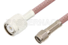 Reverse Polarity SMA Male to TNC Male Cable 36 Inch Length Using RG142 Coax -- PE35216-36 -Image