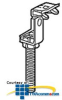 Erico Threaded Rod Hanger Beam Clamp (Pkg of 100) -- 6TAXX -- View Larger Image