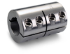 One-Piece Rigid Coupling with Keyway | Metric -- MCLC - Image