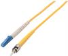 9/125, Singlemode Fiber Cable, ST / LC, 2.0m -- SFOST-LC-02 - Image