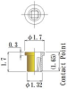 Thru Hole Short type, Round Socket Pin -- JSS17-GG - Image