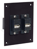 Universal Sub-Panel, Two ECF504B-UAB Couplers -- REF00007 -- View Larger Image