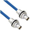Halogen Free Cable Assembly TRB Insulated Bulk Head Jack 3-Lug Cable Jack to Jack MIL-STD-1553 .242