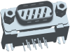 Input-Output Connectors, D-Sub High Performance, Mounting options=Threaded Insert M3 + Metal Bracket -- DEPL09P565MTXLF - Image