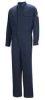 Flame-Resistant Coverall,Navy,44 In -- 34D064
