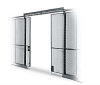 FORDLOGAN Double Slide Door for Wire Partitions -- 1170600