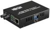 Fiber Optic - 10/100BaseT to 100BaseFX-ST Multimode Media Converter, 2km, 1310nm -- N784-001-ST