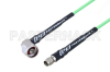 N Male Right Angle to SMA Male Low Loss Cable 36 Inch Length Using PE-P160LL Coax -- PE3C5279-36 -Image