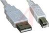 USB 2.0 A Plug to B Plug - 15 ft - Good -- 70159509 - Image