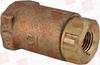 """CONBRACO 61-101-01 ( 1/4""""FXF BRZ BALLCONECHECKVLV ) -Image"""