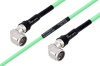 Temperature Conditioned N Male Right Angle to N Male Right Angle Low Loss Cable 100 cm Length Using PE-P300LL Coax -- PE3M0252-100CM -Image