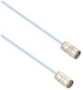 Lead Free High Temp 1553 Twinax Cable Assembly Submin Thrd Plug-Plug 1 Meter -- MSA00460-1M -Image