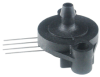 TruStability™ NSC Series, Uncompensate/Unamplified, analog, SIP GN: ribbed fastener mount, single axial barbed port, gage, 0 psi to 100 psi -- NSCSGNN100PGUNV -Image