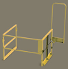 Mezzanine Clear Height Safety Gate -- MZ Series