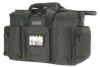 Police Equipment Bag,Black,Nylon -- 11Z606