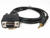 6ft DB9 Female to 3.5mm Serial Cable -- D935-06 - Image