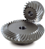 Ground Spiral Bevel Gear - Carbon Steel -- KMBSG - Image