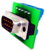 IAC150 Screw Terminal to DB9 Board -- FSH02236 - Image