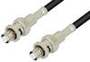 SHV Plug to SHV Plug Cable 48 Inch Length Using RG223 Coax, RoHS -- PE3992LF-48 -Image