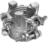 6 Bolt Type Hose Clamps -Image