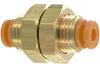 BULKHEAD UNION, PNEUMATIC, 5/32IN. (4MM) OD TUBE -- 70070401 - Image