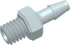 Premium Grade Barb to Thread Straight Connector -- APRC10627FB06CL
