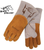 370 High Quality Cowhide Stick Welding Gloves w/ BackPatch -- REV-370-MASTER