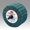 3M Scotch-Brite CB-ZR Coated Aluminum Oxide Flap Wheel - 80 Grit - 1 1/4 in Face Width - 2 1/2 in Diameter - 80802 -- 051144-80802 - Image