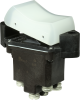 TP Series Rocker Switch, 2 pole, 2 position, Screw terminal, Flush Panel Mounting -- 2TP14-3 -Image