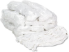 Web/Tailband Wet Mop Head, Rayon, #24 Size, White, 12/Carton -- UNS4024RCT - Image