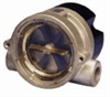 Cole-Parmer Flow Indicator/Sensor for Liquids; brass, 1/4