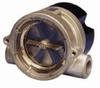Cole-Parmer Flow Indicator/Sensor for Liquids; brass, 1/2