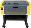 Flying-Optic Fiber Laser System -- Epilog FiberMark 24