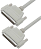 Deluxe Molded D-Sub Cable, HD62 Male / Male, 2.5 ft -- HAD00006-205F -Image