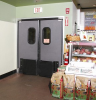 Insulated ABS Industrial Impact Doors -- ID-RD-175