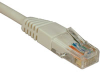 Cat5e 350MHz Molded Patch Cable (RJ45 M/M) - White, 6-ft. -- N002-006-WH