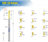 Conventional Board Testing Probes -- 100-16 Series