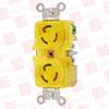 HUBBELL HBL47CM00 ( LKG DUP RCPT, CM, 15A 125V L5-15R ) -Image