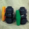 +GF+ PVC Coloro True Union Ball Valves Type 355 -- 22825