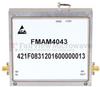 2 GHz to 6 GHz, Medium Power Broadband Amplifier with 3 Watt, 44 dB Gain and SMA -- FMAM4043 -Image